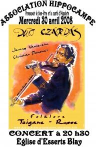 Concert de soutien à l'association HYPPOCAMPE