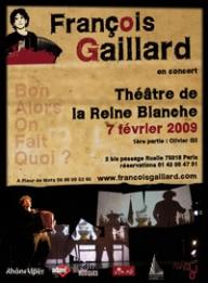 Concert de François Gaillard