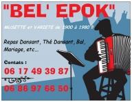 REPAS DANSANT AVEC L 'ORCHESTRE 'BEL 'EPOK'