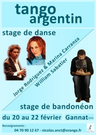 Stage Tango et Bandonéon
