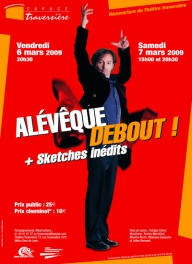 Christophe Alévêque : 'Debout!' + sketches inédits'