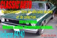 CLASSIC'AUTO Véhicules anciens de collection